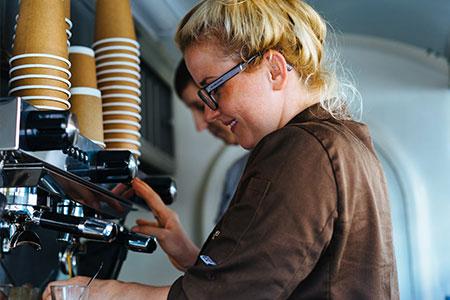 Bester Kaffee in unserem Foodtruck